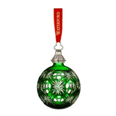 2012 Annual Emerald Cased Ball Ornament2012 Ornaments, Ball Ornaments, Annual Emeralds, Waterford Crystal, Crystals Ornaments, Christmas Ornaments, Emeralds Ball, Merry Christmas, Waterford Christmas