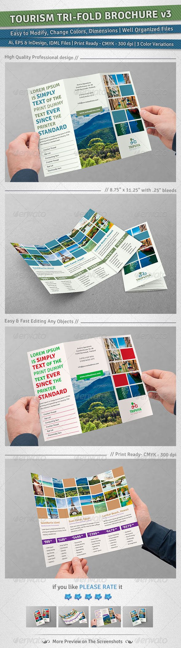 Brochures are very important for promotion of company's product