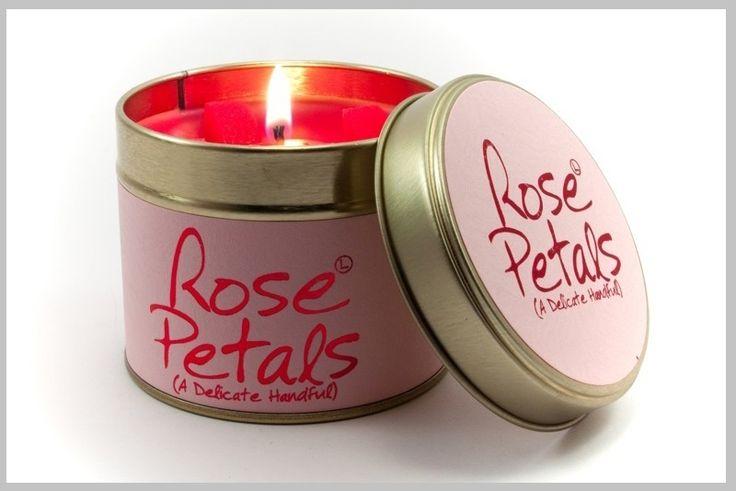 Geurkaarsen - Scented candles - Rose Petals