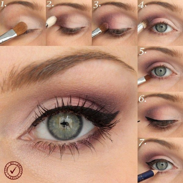 Paso A Paso Suave Maquillaje Rosa Maquillaje Paso A Paso Maquillaje De Ojos Día Maquillaje De Ojos Natural