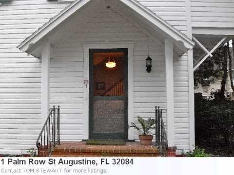St Augustine, Fl Real Estate For Sale - 1 Palm Row. Mls# 134 - http://jacksonvilleflrealestate.co/jax/st-augustine-fl-real-estate-for-sale-1-palm-row-mls-134/