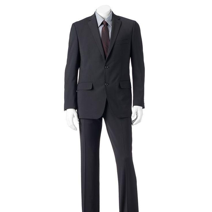 Men's Marc Anthony Slim-Fit Stretch Suit Jacket, Size: 44 - regular, Black