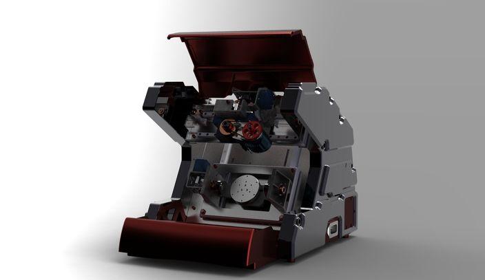 5-AXIS Desktop CNC Machining(CONCEPT MODEL) - Rhino, STL, STEP / IGES, SOLIDWORKS - 3D CAD model - GrabCAD