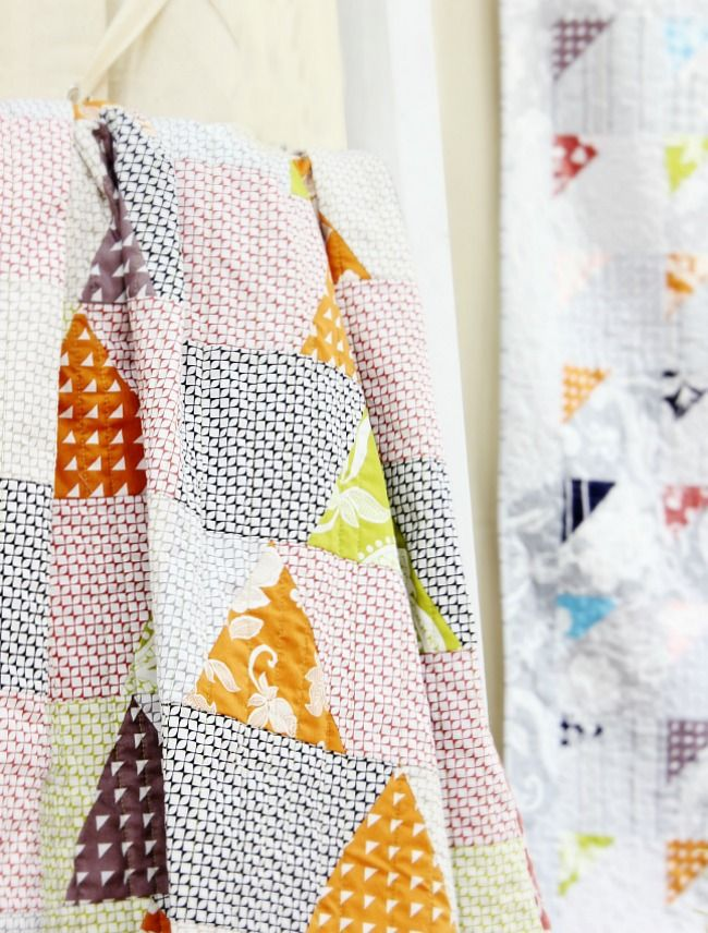 Love this fun quilt pattern with Simply Eclectic fabrics!  #simplyeclectic