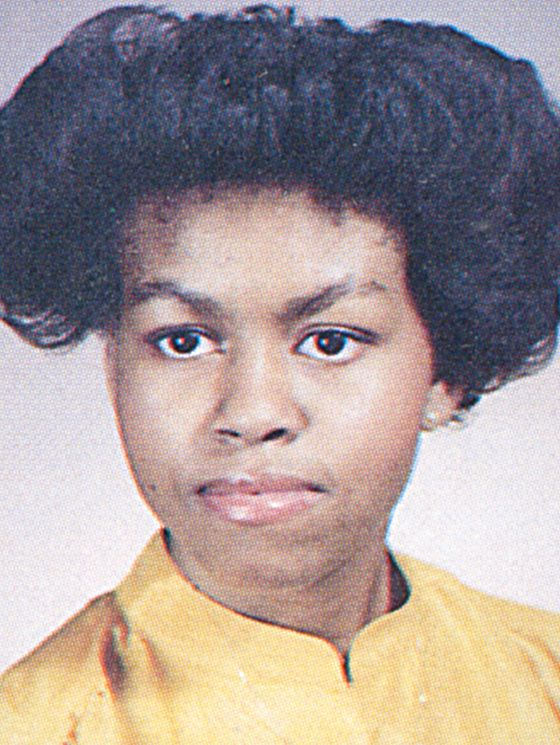 Young MICHELLE OBAMA