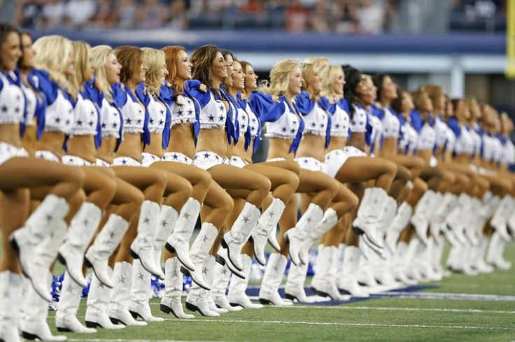 Dallas Cowboys Cheerleaders Are The Hottest In The NFL 2015 ............................