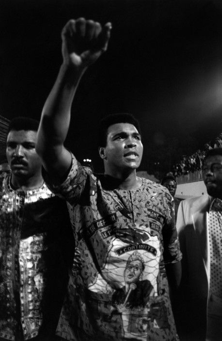 Muhammad Ali and his brother. Zaire, 1974. A.Abbas