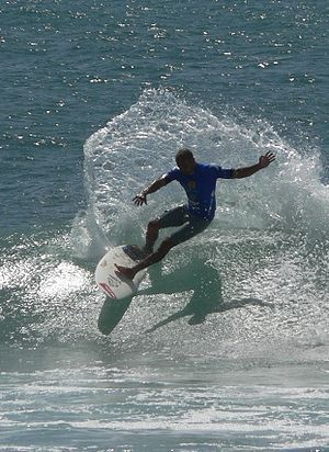Kelly Slater, the king of sea!