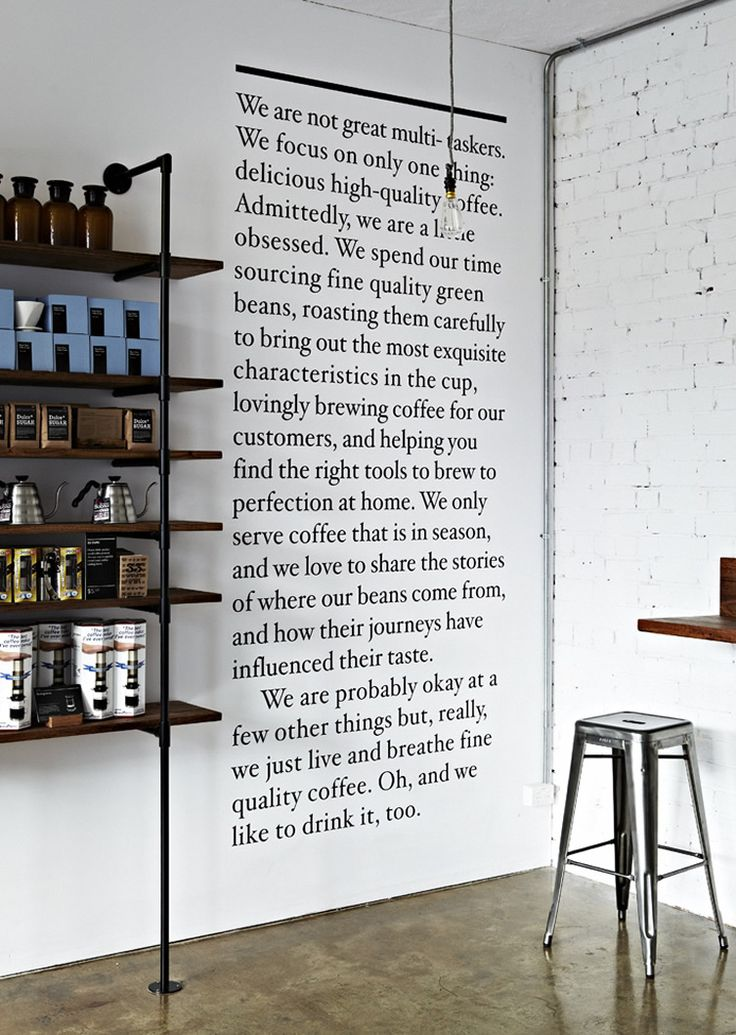 Market Lane Coffee | Melbourne does a great job of capturing their brand personality in simple, relatable copy.