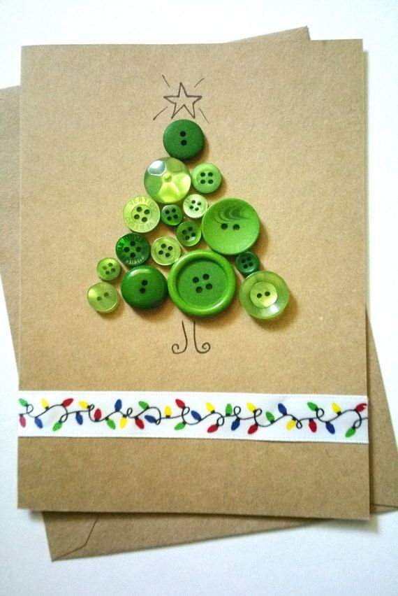 Handmade Luxury Christmas Greeting Card by DesignsByMistyBlue