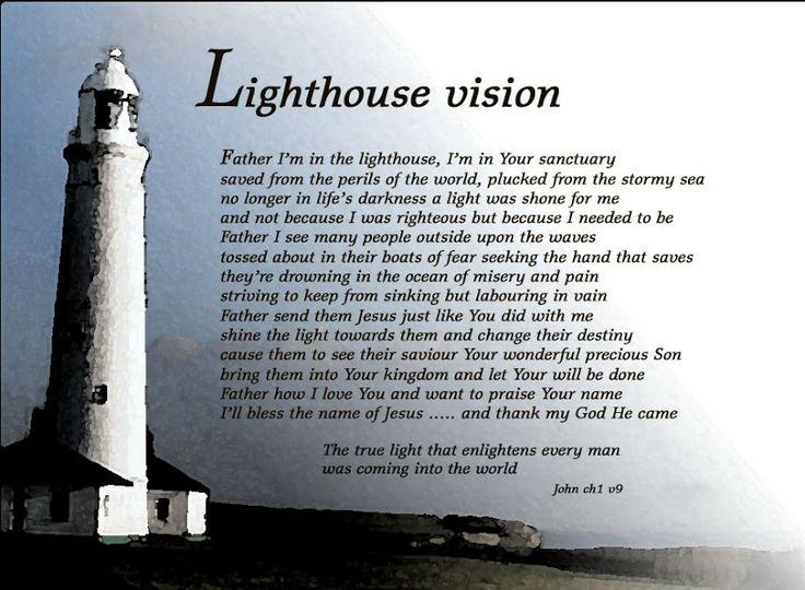lighthouse poem