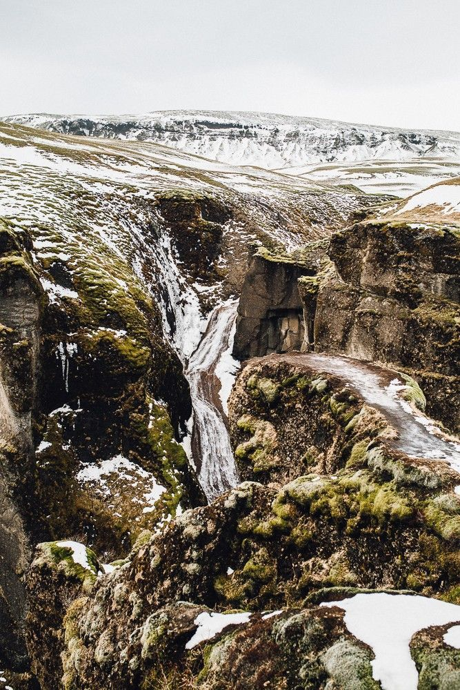 Fjadrargljufur Canyon. Iceland Travel Guide.  Buy air tickets: | http://2track.info/Jl1s/