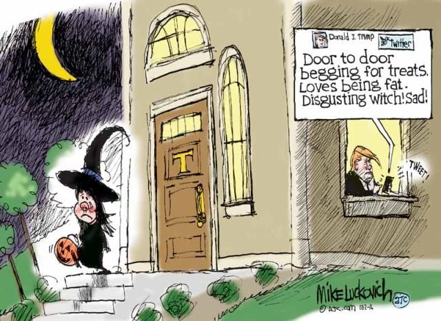 Frightfully Funny Halloween Memes and Cartoons: Witch Shaming