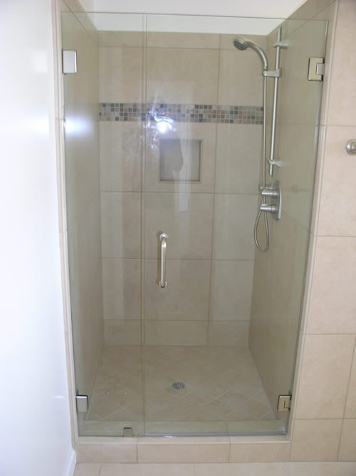how to clean glass on shower