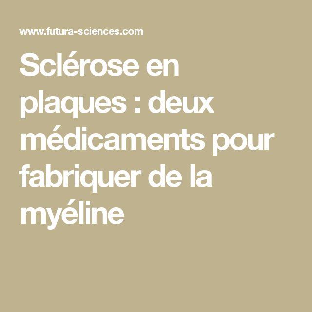 Sclérose en plaques : deux médicaments pour fabriquer de la myéline