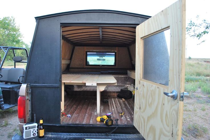 This is my home built camper. I have lived out of my truck for extended periods of time while working afield as an archaeologist. This project is a sort of homage to my Traveler ancestors. Between ...