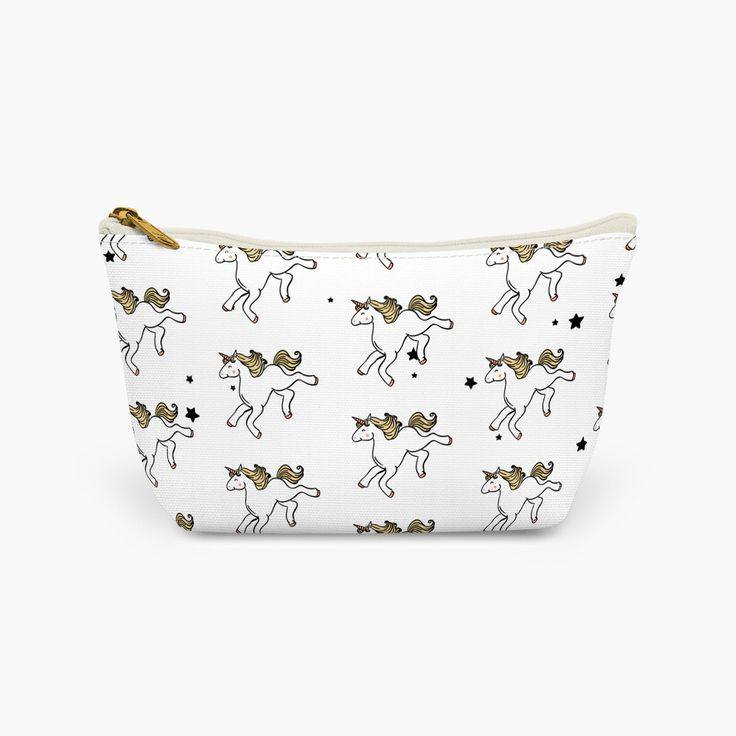 Unicorn Makeup Bag White | Wash bag | Cosmetic Bag | Pencil Case | Clutch Bag by FrazzleFlorrie on Etsy https://www.etsy.com/uk/listing/512274681/unicorn-makeup-bag-white-wash-bag