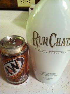 Testing Trendy....1, 2, 3: Rumchata and root beer