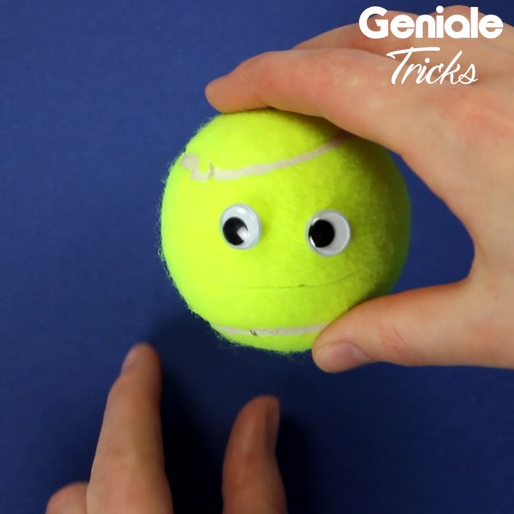 Geniale Idee aus Tennisball