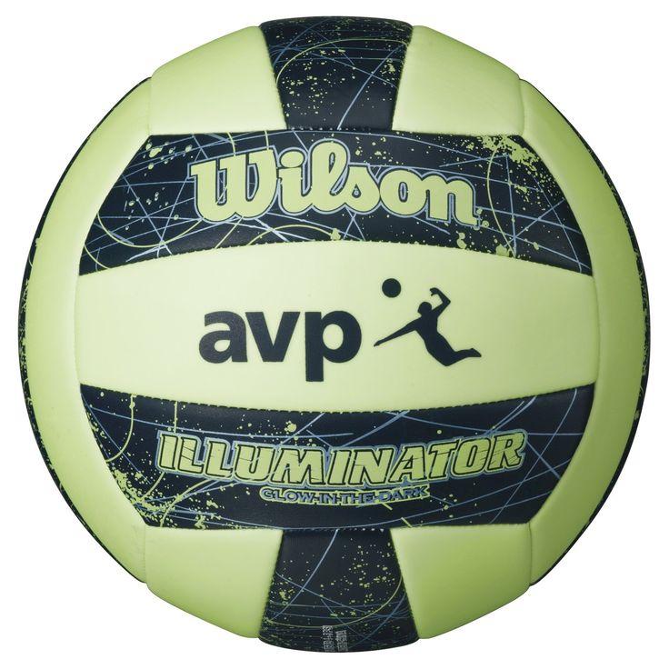 Wilson Avp Illuminator Volleyball, Green