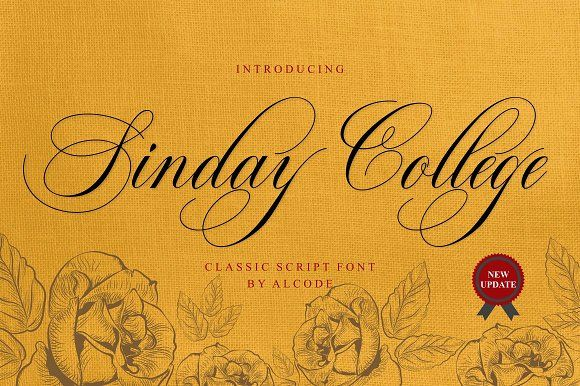 Sinday College by Alcode on @creativemarket