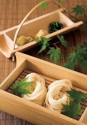 Japanese cold noodle -Somen-