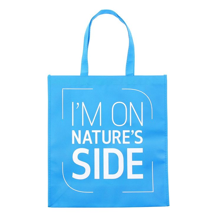 'I'm on Nature's Side' bag for life   Natural History Museum Online Shop