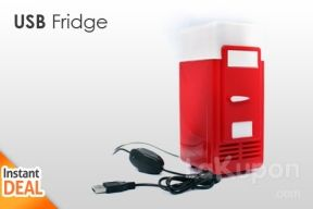 Now You Can Keep a Cool Beverage Ready to Drink at All Times with this Mini USB Fridge. Only Rp 149.000,-