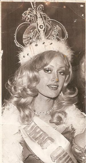 Trigg's transvestite girlfriend Marilyn King, born Arthur Montgomery King.