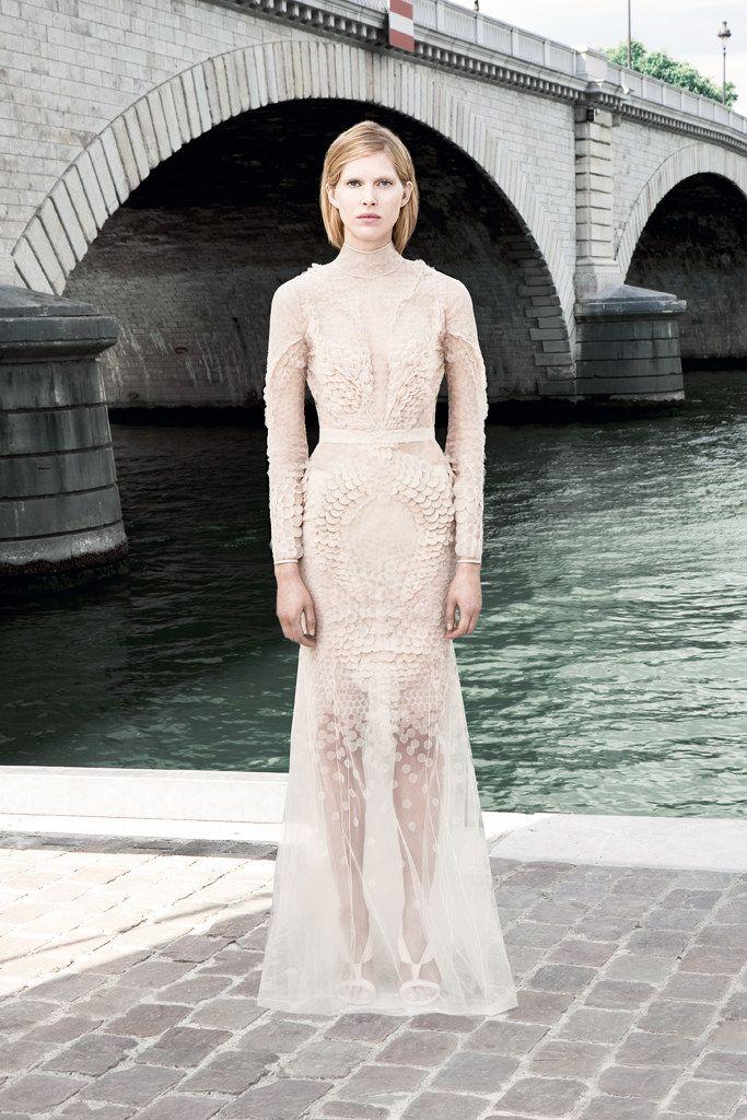 Givenchy Fall 2011 Couture Fashion Show - Iselin Steiro