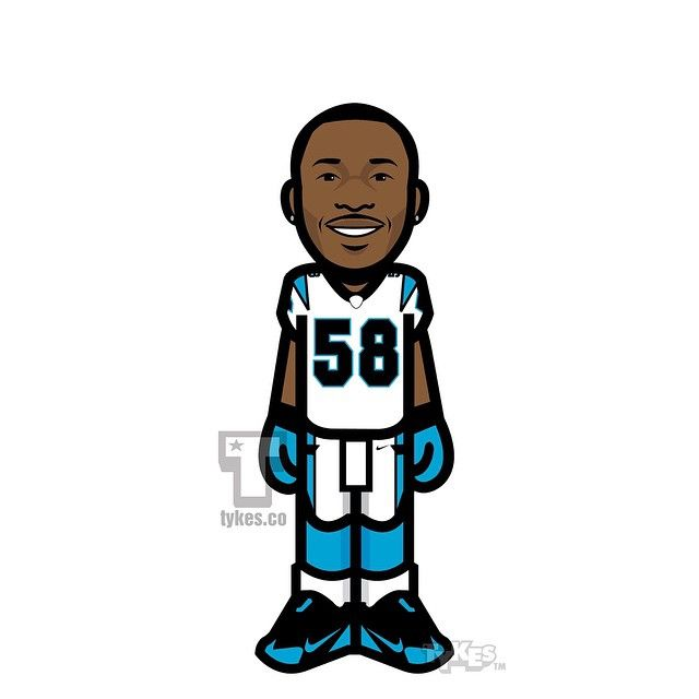 Thomas Davis Carolina Panthers Tyke. Shortly after making Cam Newton one of the highest-paid quarterbacks in the league, the Carolina Panthers have rewarded linebacker Thomas Davis with a new contract.  They have signed Davis to a two-year extension who will now collect $17.75 million over the next three years including a $9 million signing bonus. #ThomasDavis #ManOfTheYear #KeepPounding #CarolinaPanthers #Panthers #NFL #football #tyke #tykes #MyTyke www.tykes.co