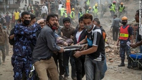 At least 1,832 people are dead after a 7.8 magnitude earthquake early Saturday near Kathmandu, Nepal's capital and largest city, authorities say.
