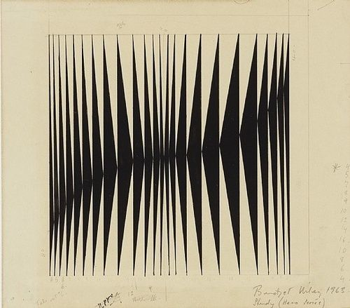 truly still, but it moves. (vjeranski: bridget riley)
