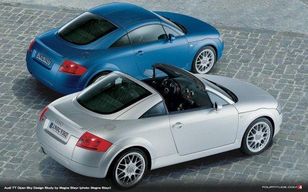 #ThrowbackThursday: 2001 Audi TT Open Sky Concept by Magna Steyr - Fourtitude.com