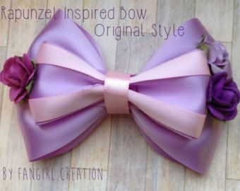 The Aurora Inspired Bow by FangirlCreation on Etsy
