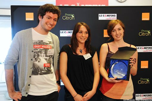 [French] Babble planet remporte le trophée Startup Presse-citron