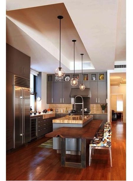 Kitchen! #kitchen #lights #renovations