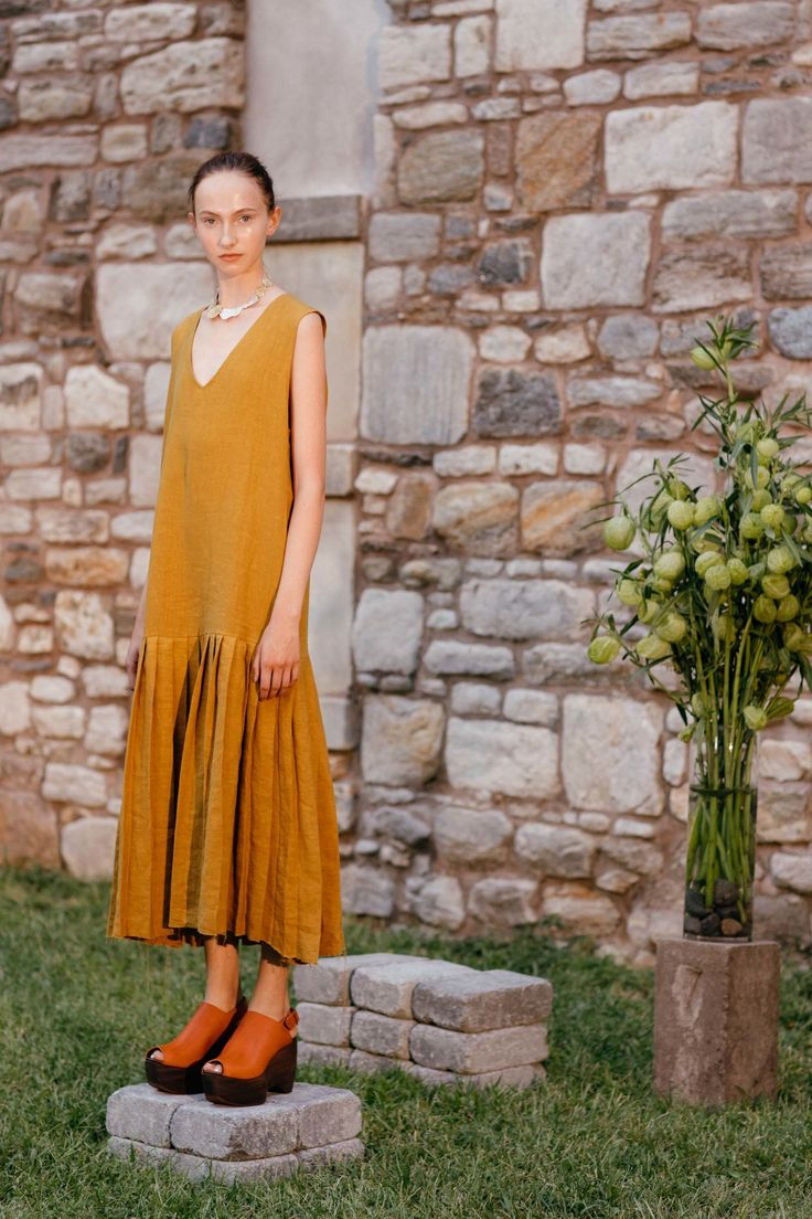 View the complete Simon Miller Spring 2017 collection from New York Fashion Week.