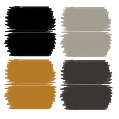 office color scheme. luxe noir a glamorous approach to holiday decorating bold colors of velvety black charcoal gray and deep gold accented with bits metallic silver office color scheme