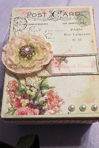 Beautiful keepsake boxes