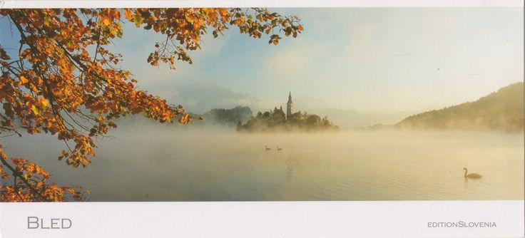 SI-155102 - Arrived: 2017.10.02   ---   Lake Bled is a lake in the Julian Alps of the Upper Carniolan region of northwestern Slovenia, where it adjoins the town of Bled. The area is a tourist destination.