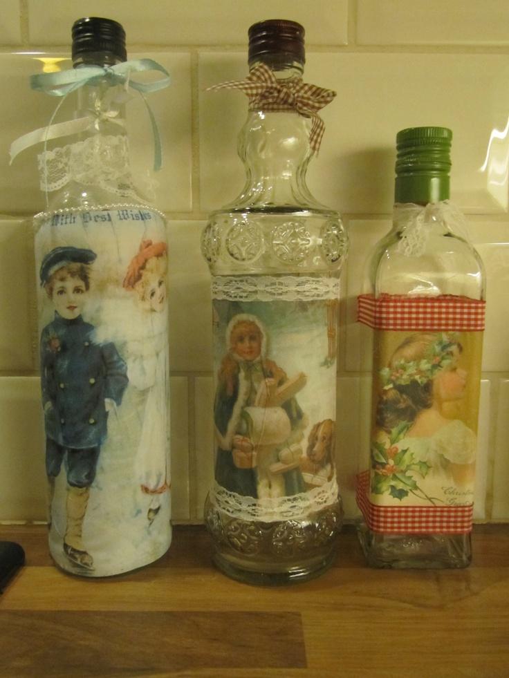 brocante flessen