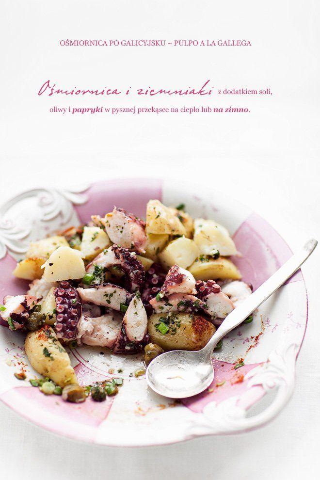 Sałatka z ośmiornicą, ziemniakami i kaparami