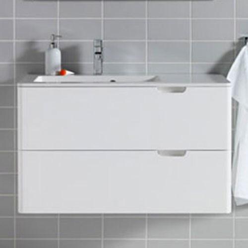 Tvättställsskåp Hafa Lime Vit