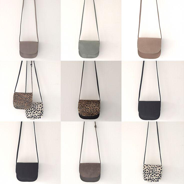 Handmade leather bags. www.sannerose.com