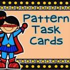 24 task cards that give students the opportunity to practice solving both growing and repeating patterns. Their are both geometric and numerical pa...