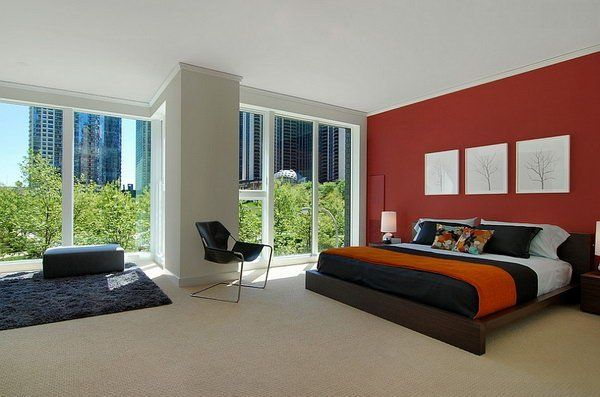 Bedroom decor - good style for master, colors for guest room