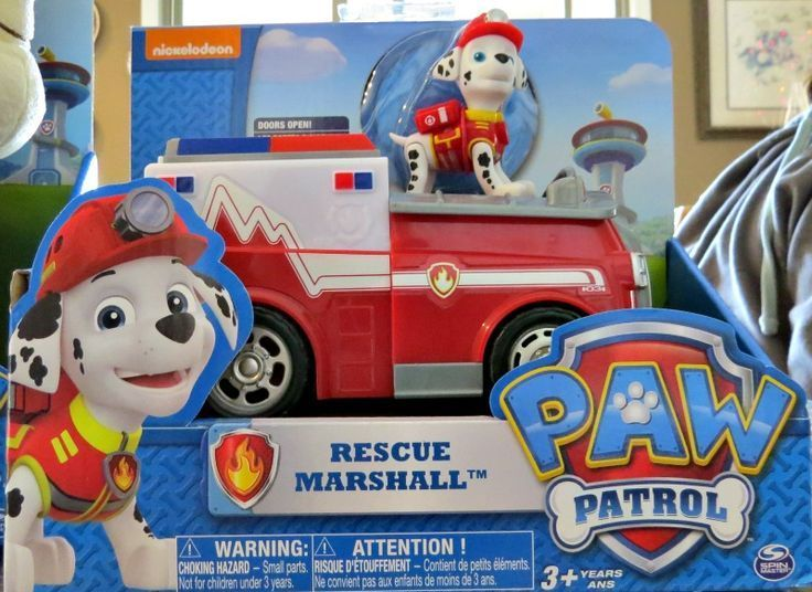 Paw Patrol Rescue Marshall Toys  - Top Toys for Kids 2017