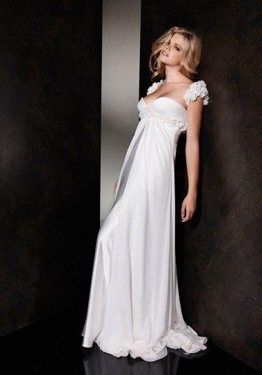Vestito da sposa stile impero