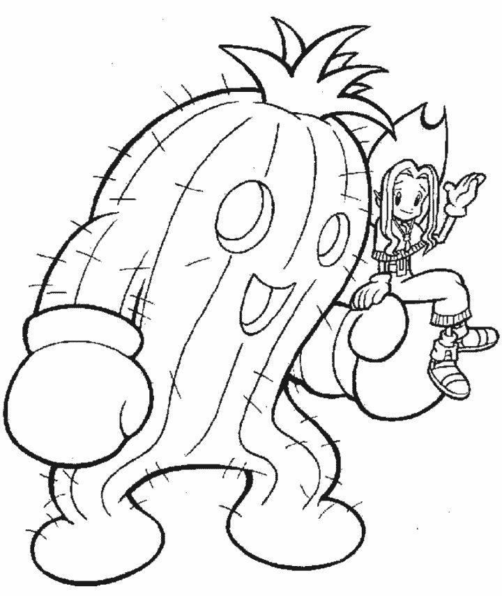 digmon coloring pages - photo#19